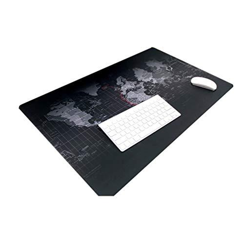 CHOULI Tragbare größe große modische mauspad Computer Notebook Gaming mauspad schwarz 300x700x2mm - Große Trackball
