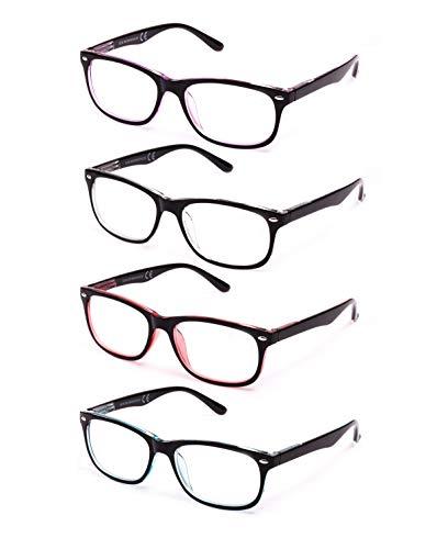 Pack de 4 Gafas de Lectura Vista Cansada Presbicia