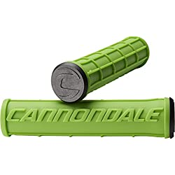 Cannondale Grips Waffle Silicone, color verde