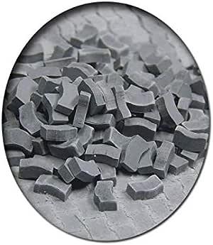 Juweela 24170 Spur 0 Rasengittersteine grau 215 Stück