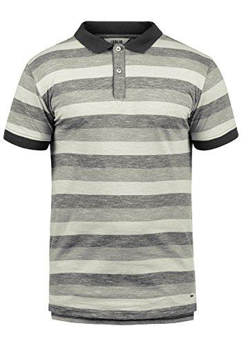 !Solid Mhicco Herren Poloshirt Polohemd T-Shirt Shirt Mit Polokragen 100% Baumwolle, Größe:XXL, Farbe:Black (9000)