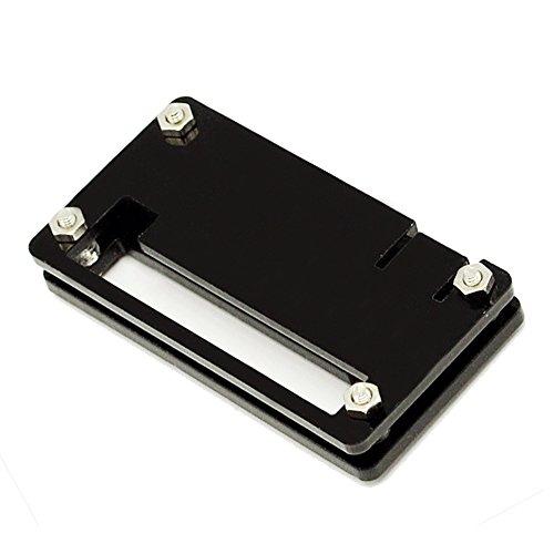 Housse protection acrylique coque protecteur accessoire pour Raspberry Pi Zero 1.3 Version et W modèle Noir