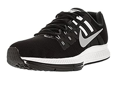 Nike Women's W Air Zoom Structure 19 Flash Running Shoes, Black (Blck / Slvr-Cl Rflct Gry-Pr Platen), 3.5 UK