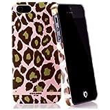 Co:caine Slap Coque + Film de Protection d'écran pour iPhone 5/5S Rose/Multicolore Motif Pink Plush