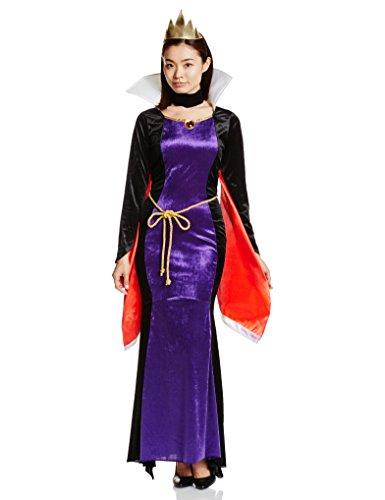 esen Koenigin-Kostuem-Damen 155cm-165cm 95319 (Snow White Böse Königin Disney)