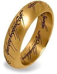 El Señor de los Anillos - El anillo único en un joyero, oro