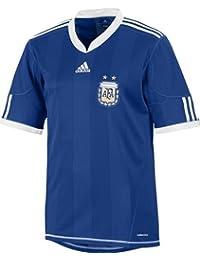 adidas – Camiseta de fútbol de la selección argentina AFA exterior manga corta Azul Rey,