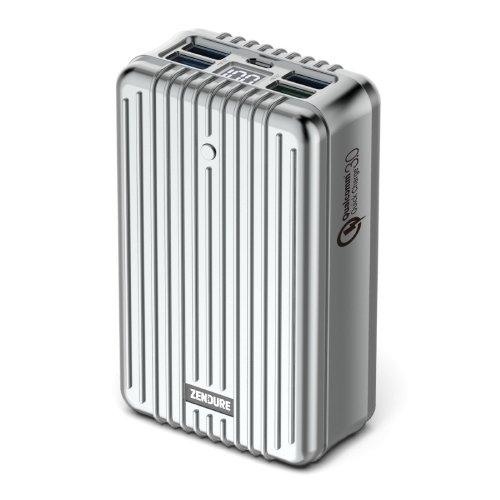 [Rápido de colocación Monster] Zendure® A8 control de calidad Cargador portátil 26800mAh con Qualcomm de carga rápida 3.0 Tecnología - Super-alta capacidad de batería externa con indicador digital del LED