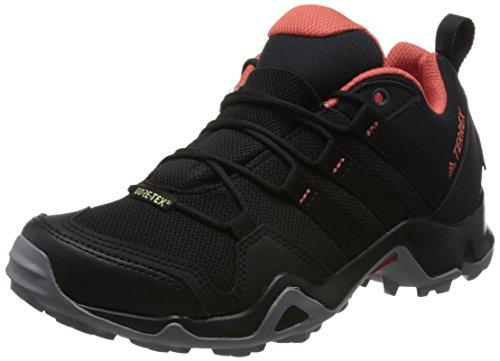 adidas Damen Terrex AX2R GTX W CM7855 Trekking-& Wanderhalbschuhe, Schwarz (Negbas/Negbas/Esctra 000), 40 EU