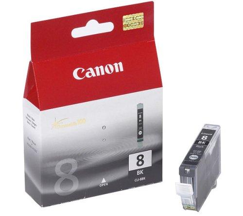 Canon CLI-8 BK Tintenpatrone 13ml, foto-schwarz (Cli-8 Farbe)