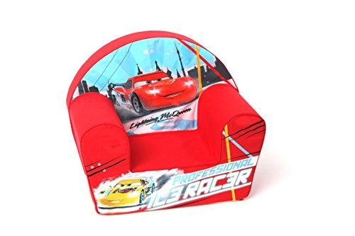 Disney Fauteuil Cars McQueen Ice Racer Rouge