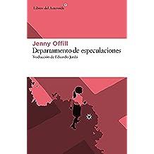 Departamento de especulaciones (Libros del Asteroide)