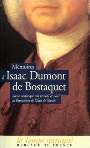 Mémoires d'Isaac Dumont de Bostaquet