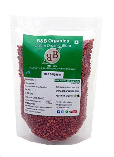 B&B Organics Red Sorghum, 1 kg