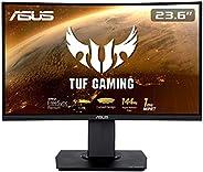 "ASUS TUF Gaming VG24VQ - Monitor gaming curvo de 23.6"" FHD (1920x1080, 144 Hz, 1 ms, Adaptive-Sync/FreeSy"