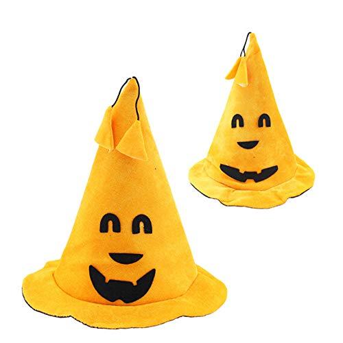 Rocita halloween masquerade party cappello di zucca bent eye unisex costume di halloween cappello di zucca costume di halloween puntelli 1pc