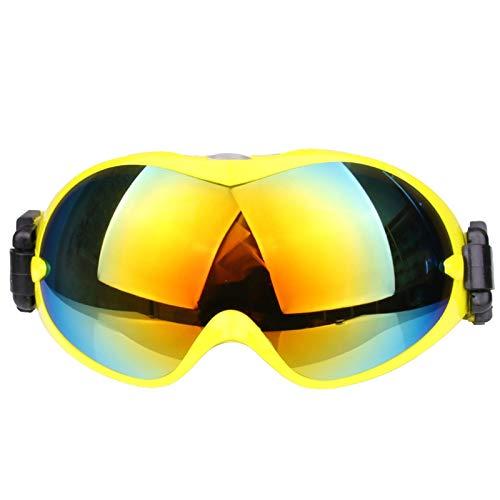 Fahrrad Schutzbrille Skibrille Sphärische Doppelschicht Anti Fog Outdoor Sportausrüstung Schneebrille Bergsteigen Windschutzscheibe Cola Karte Myopie Yellow Damen Herren