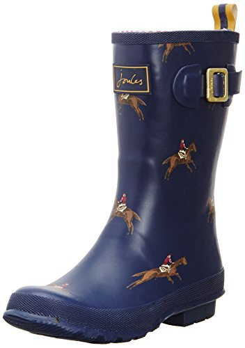 Joules Molly Welly, Damen Stiefel Navy Horse