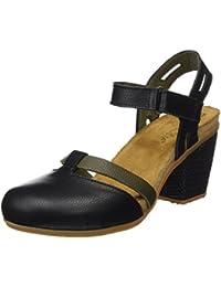 El Naturalista N5032 Soft Grain Mola, Zapatos de Tacón con Punta Cerrada para Mujer