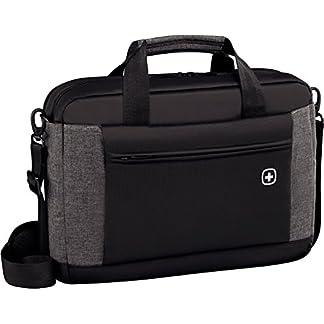 Wenger – Mochila con Bolsillo para Tablet para Ordenador portátil, Color Negro
