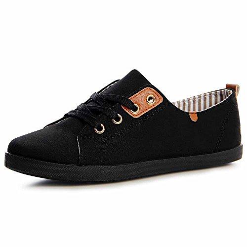 Topschuhe24, Sneaker Donna Nero