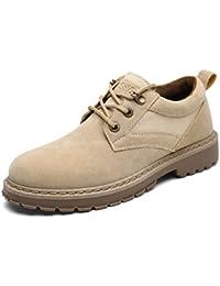 Donyyyy Men's Casual botas cortas,Beige,44  Zapatos de moda en línea Obtenga el mejor descuento de venta caliente-Descuento más grande