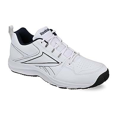 Reebok Men's All Day Walk Lp White and Black Running Shoes - 9 UK