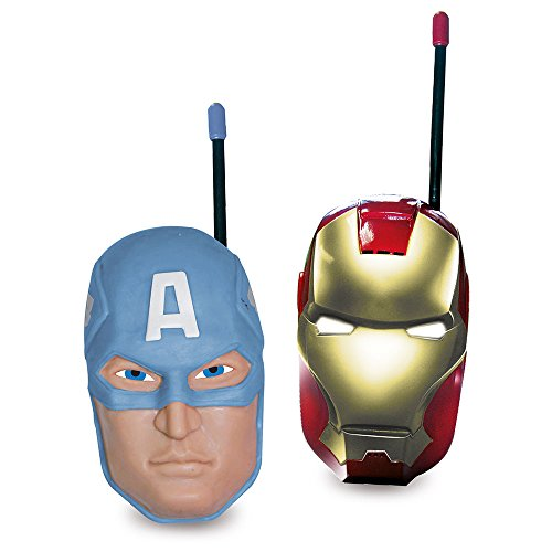 The Avengers 390089 - Walkie-Talkie (IMC Toys 390089) - Walkie Talkie, Juguete Interactivo A partir de 6 Años