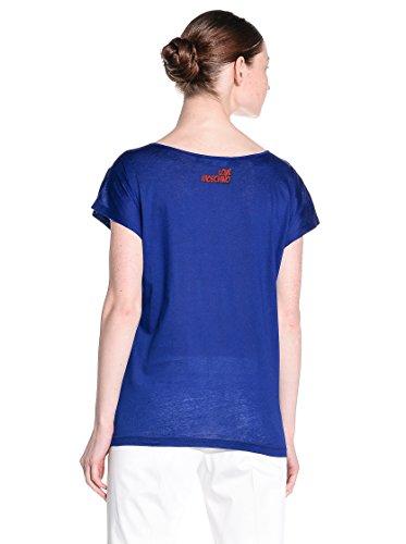 Love Moschino W 4 G41 17 M 3049 T-Shirt Maniche Corte Donna BLU Y56