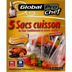 Sacs cuisson au four traditionnel et micro-ondes (10...