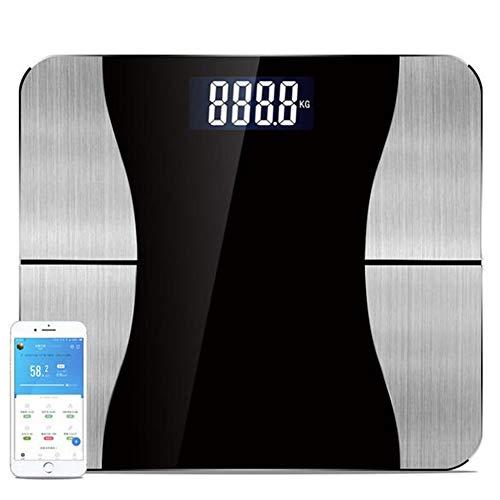 HHJY-Smart Personenwaage USB Aufladung Personenwaage Body Composition Analyzer Gesundheitsmonitor Für Körpergewicht Fett Wasser BMR Mehr