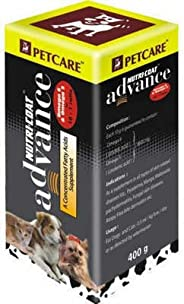 Dog Lovers Petcare Nutri-Coat Advance Concentrated Fatty Acids Supplement (400 g)