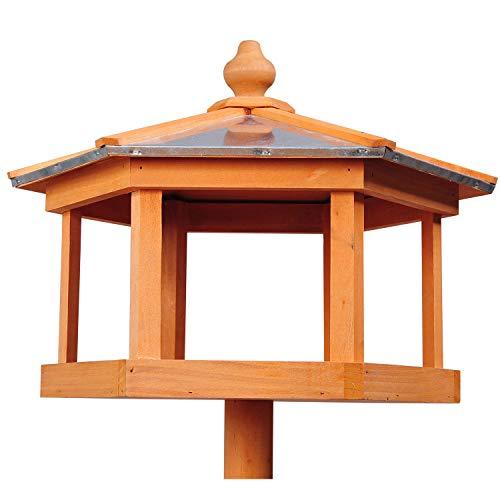 PawHut Vogelhaus mit Ständer und Zinkdach - 6