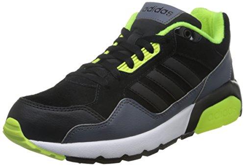 adidas - Run9tis, Scarpe sportive Uomo Nero (Negro (Negbas / Negbas / Amasol))