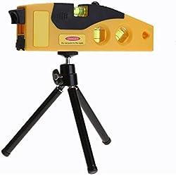 Niveau laser Règle, pour mesure horizontal et vertical avec trépied, précision 0,05mm