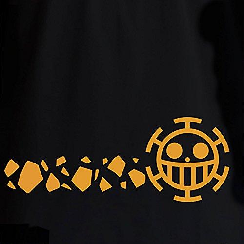 One Piece Aby T-Shirt: Trafalgar Law - New World (Schwarz) Schwarz
