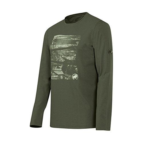 Mammut Herren Langarm Shirt Stephan inferno