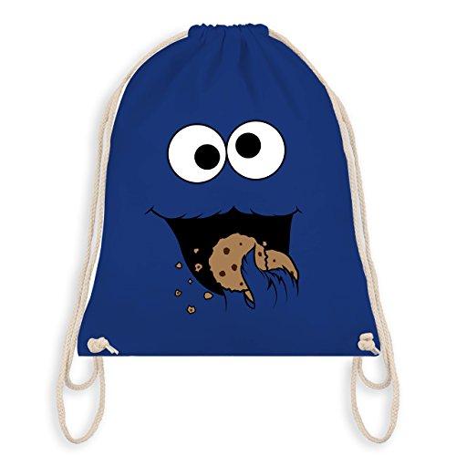Carnevale & Fasching - Biscotto Mostro - Borsa Da Palestra I Gym Bag Royal Blue