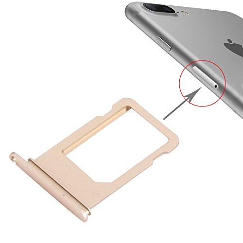 wortek Sim Karten Halter für iPhone 7 Plus Karten Adapter Slot Gold