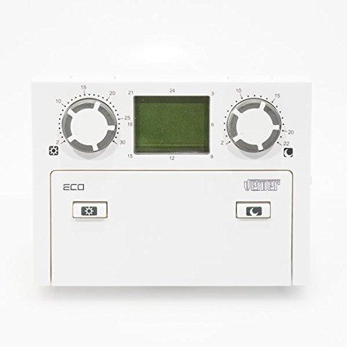 CRONOTERMOSTATO GIORNALIERO 2 livelli di temperatura ECO.D VE082400