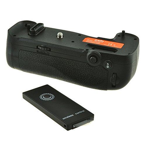 Jupio JBG-N014 Batterie Griff für Nikon D500 (MB, D17) mit 2.4 GHz Wireless schwarz
