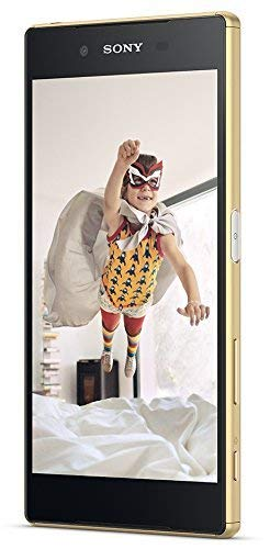 Sony Xperia Z5 Smartphone (5,2 Zoll (13,2 cm) Touch-Display, 32 GB interner Speicher, Android 5.1) gold Mp4 Sony Ericsson
