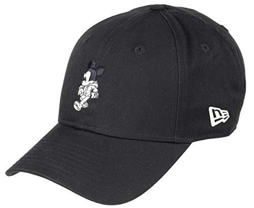 New Era Mickey Maus New Era 9forty Verstellbar Basecap Disney Schwarz - One-Size (Von Mäusen Männer)