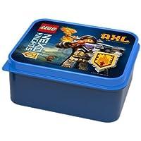 """Lego Lunch Box """"Nexo Knights"""" AXL - I'm Hungry Again Motiv 160 x 141 x 66 mm - Brotdose / Vesperdose für Unterwegs oder Zuhause – Gute Laune und Freude am Essen für das Kind"""
