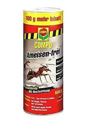 COMPO Ameisen-frei, Staubfreies Ködergranulat mit Nestwirkung