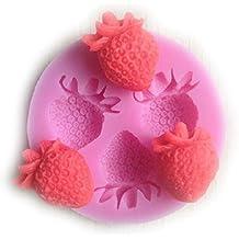 SMO de frutas, fresas, pasteles Fondant Cake azúcar artesanía Póster de decorar-silicona-form 110