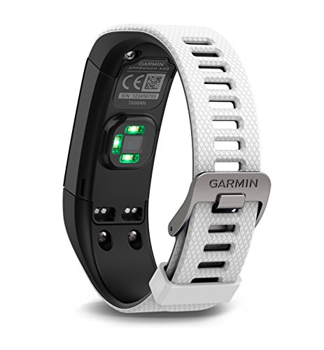 Garmin Approach X40 GPS Golf Watch and Activity Tracker – White/Black