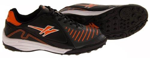 Footwear Studio, Scarpe da calcio bambini Nero nero nero / arancione