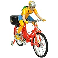 Shanaya Handicrafts - Battery Operated Street Bicycle Musical Cycle Toy (Multicolour)