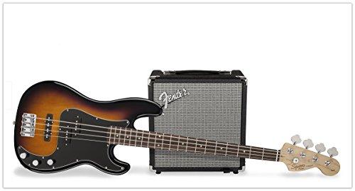 Fender Squier Affinity P-Bass PJ Pack BSB